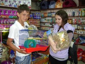 "Подарки от ""Любимчика"" - победителю конкурса"