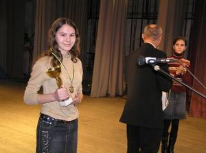 Кубок памяти героев афганской войны завоевала Зоя Рапчинская