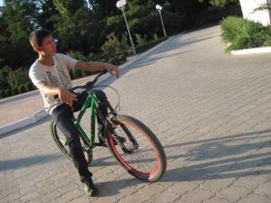 На горном велосипеде - по улицам Измаила