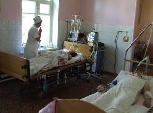 Базу городской больницы  пополнили медоборудованием